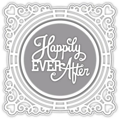 Sue Wilson Designs - Special Occasion -  Ornate Framed Happily Ever After