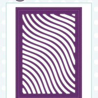 Creative Expressions - Background Collection - Wavy Lines Craft Die