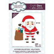Creative Expressions - Stitched Collection  - Jolly Santa Craft Die