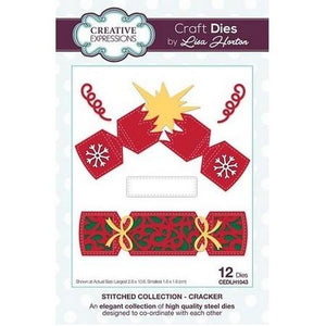 Creative Expressions - Stitched Collection  - Cracker Craft Die