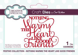 Sue Wilson - Festive Collection - Nothing Warms The Heart Like Good Friends