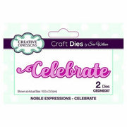 Sue Wilson Designs - Noble Sentiments Collection - Celebrate
