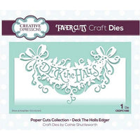 Creative Expressions - Paper Cuts Collection - Deck The Halls