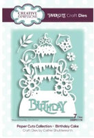 Creative Expressions - Dies - Paper Cuts Collection - Birthday Cake Edger