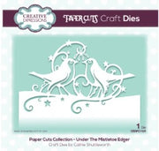 Creative Expressions - Dies - Paper Cuts Collection - Under The Mistletoe Edger