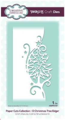 Creative Expressions - Dies - Paper Cuts Collection - O' Christmas Tree Edger