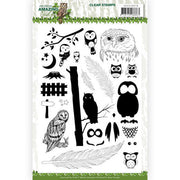 Amy Design - Amazing Owls Clear Stamps