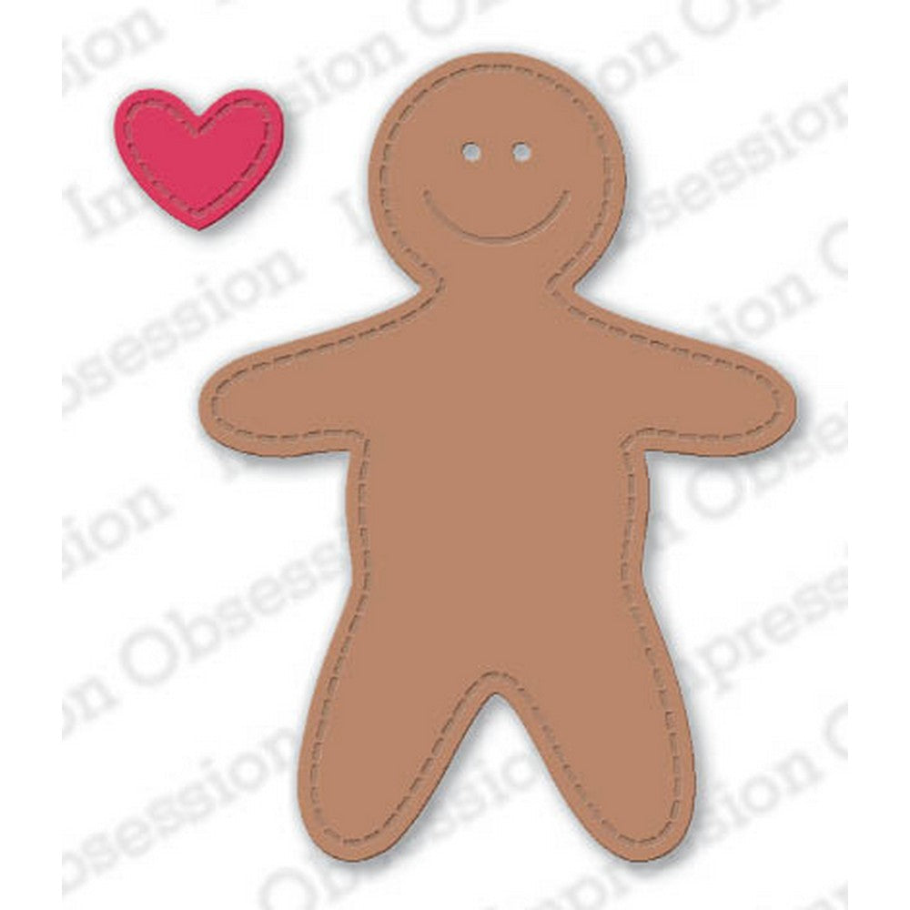 Impression Obsession - Dies - Small Gingerbread