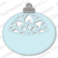 Impression Obsession - Dies - Snowflake Ornament Tag