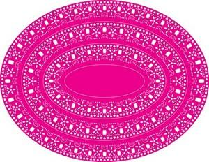 Cheery Lynn Designs - Oval Doily Stacker 1