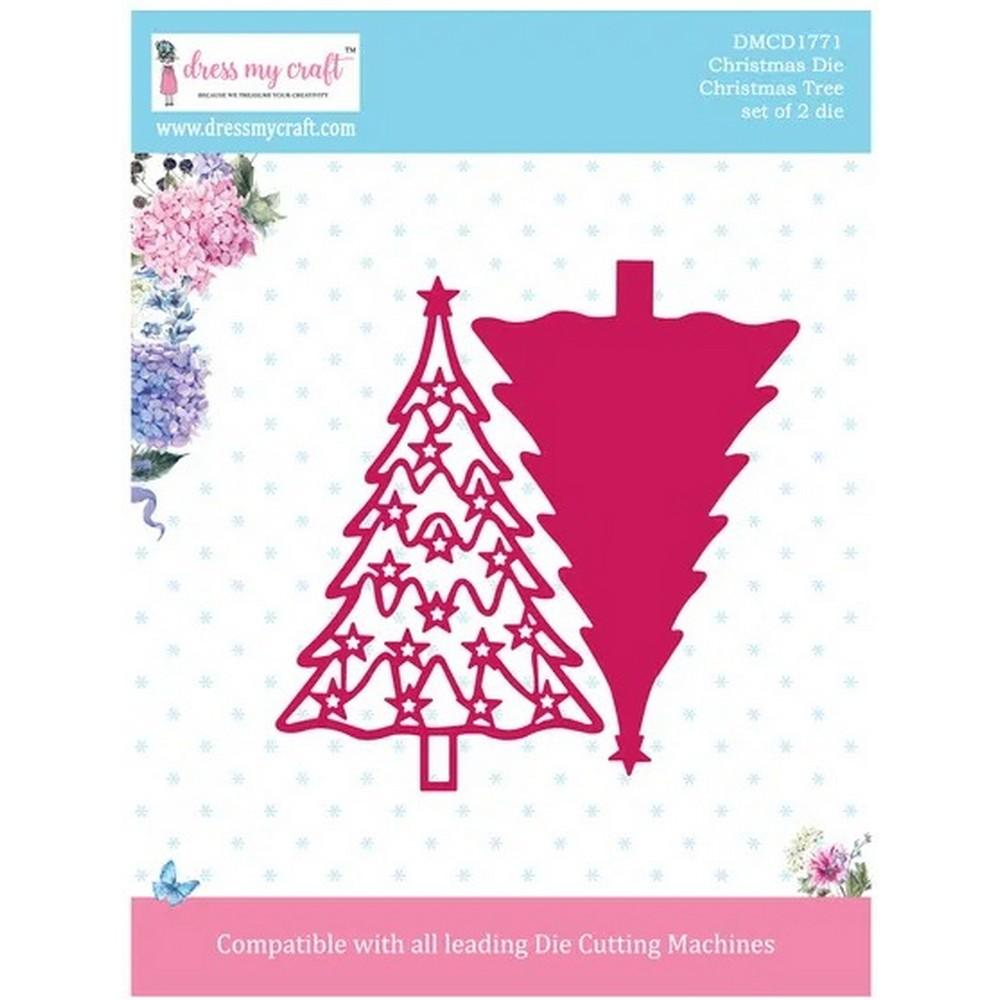 Dress My Craft - Dies - Christmas Tree