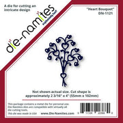 Die-Namites - Heart Bouquet
