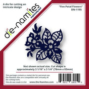 Die-Namites - Five Petal Flowers
