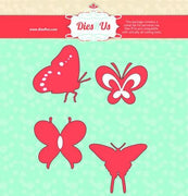 Dies R Us - Dies - Butterfly Set #1
