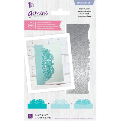 Gemini - Edgeable Double-Sided Dies - Snow Flurry