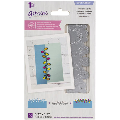 Gemini - Edgeable Double-Sided Dies - String Of Lights