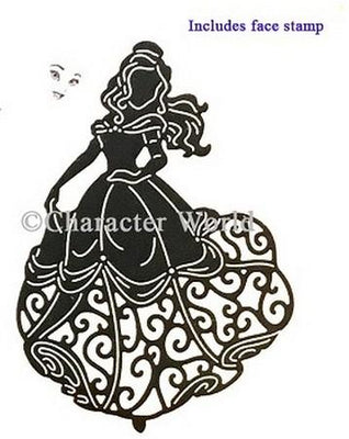 Disney - Cutting Dies - Princesses Waltzing Belle