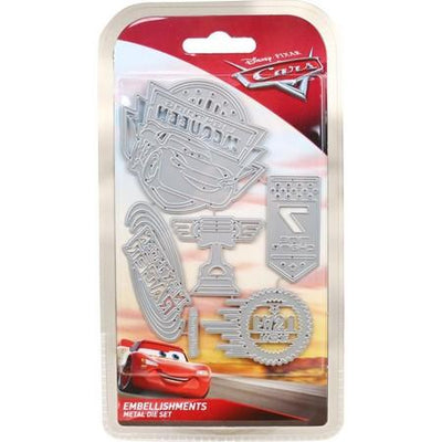 Disney - Cutting Dies - Cars 3 - Embellishments