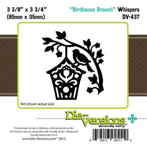 Die-Versions - Whispers - Birdhouse Branch