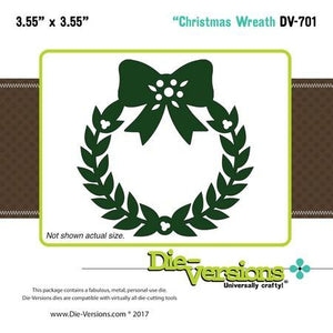 Die-Versions - Whispers - Christmas Wreath
