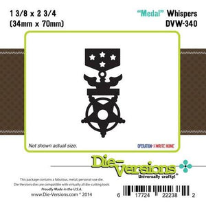 Die-Versions - Whispers - Medal