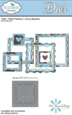Elizabeth Craft Designs - Fitted Frames 4 Curvy Squares