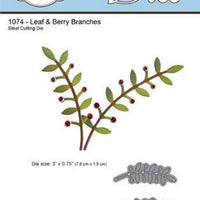 Elizabeth Craft Designs - Leaf & Berry Branches