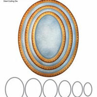 Elizabeth Craft Designs - Stitched Ovals