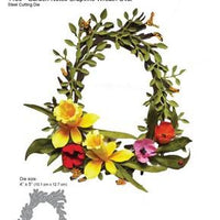 Elizabeth Craft Designs - Grapevine Wreath Oval