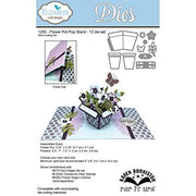 Elizabeth Craft Designs - Dies - Flower Pot Pop Stand