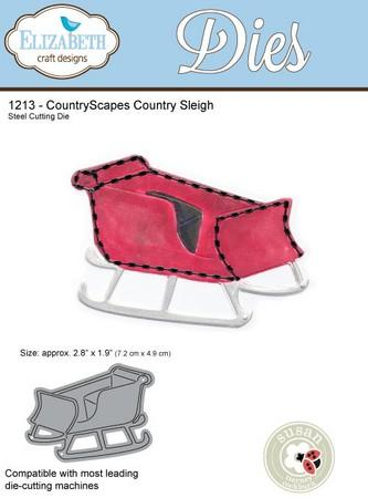 Elizabeth Craft Designs - Dies - Country Sleigh