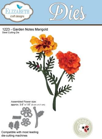 Elizabeth Craft Designs - Dies - Marigold