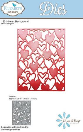 Elizabeth Crafts Designs - Dies - Heart Background
