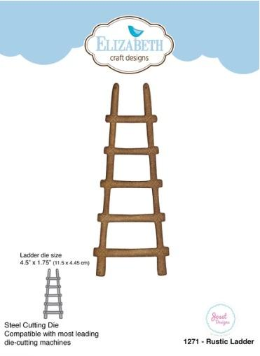 Elizabeth Craft Designs - Dies - Rustic Ladder