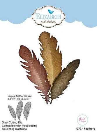 Elizabeth Craft Designs - Dies - Feathers