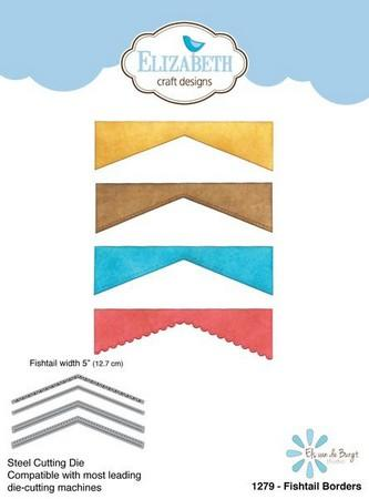 Elizabeth Craft Designs - Dies - Fishtail Borders