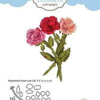 Elizabeth Craft Designs - Dies - Rose 3