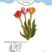 Elizabeth Craft Designs - Dies - Tulip 2