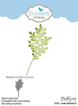 Elizabeth Craft Designs - Dies - Leafy Branch 5