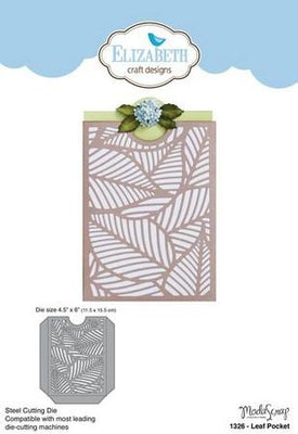 Elizabeth Craft Designs - Dies - Leaf Pocket