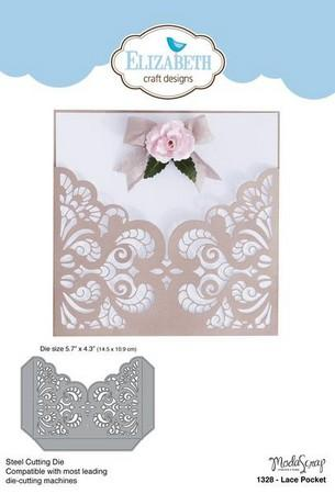 Elizabeth Craft Designs - Dies - Lace Pocket