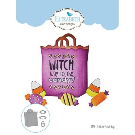 Elizabeth Craft Designs - Dies - Trick-or-Treat Bag