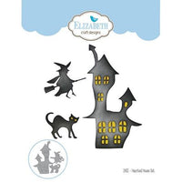 Elizabeth Craft Designs - Dies - Haunted House Set