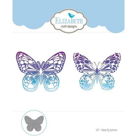 Elizabeth Craft Designs - Dies - Butterfly Aperture