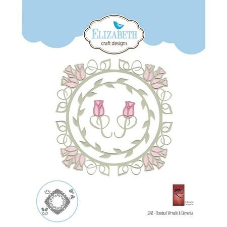 Elizabeth Craft Designs - Dies - Rose Wreath & Elements