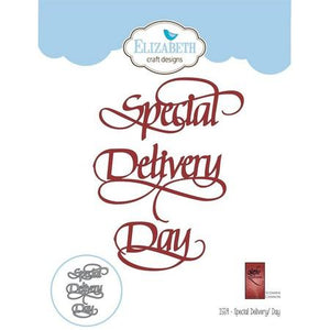 Elizabeth Craft Designs - Dies - Special Delivery Day