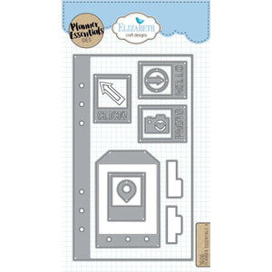Elizabeth Craft Designs - Dies - Planner Essentials 4