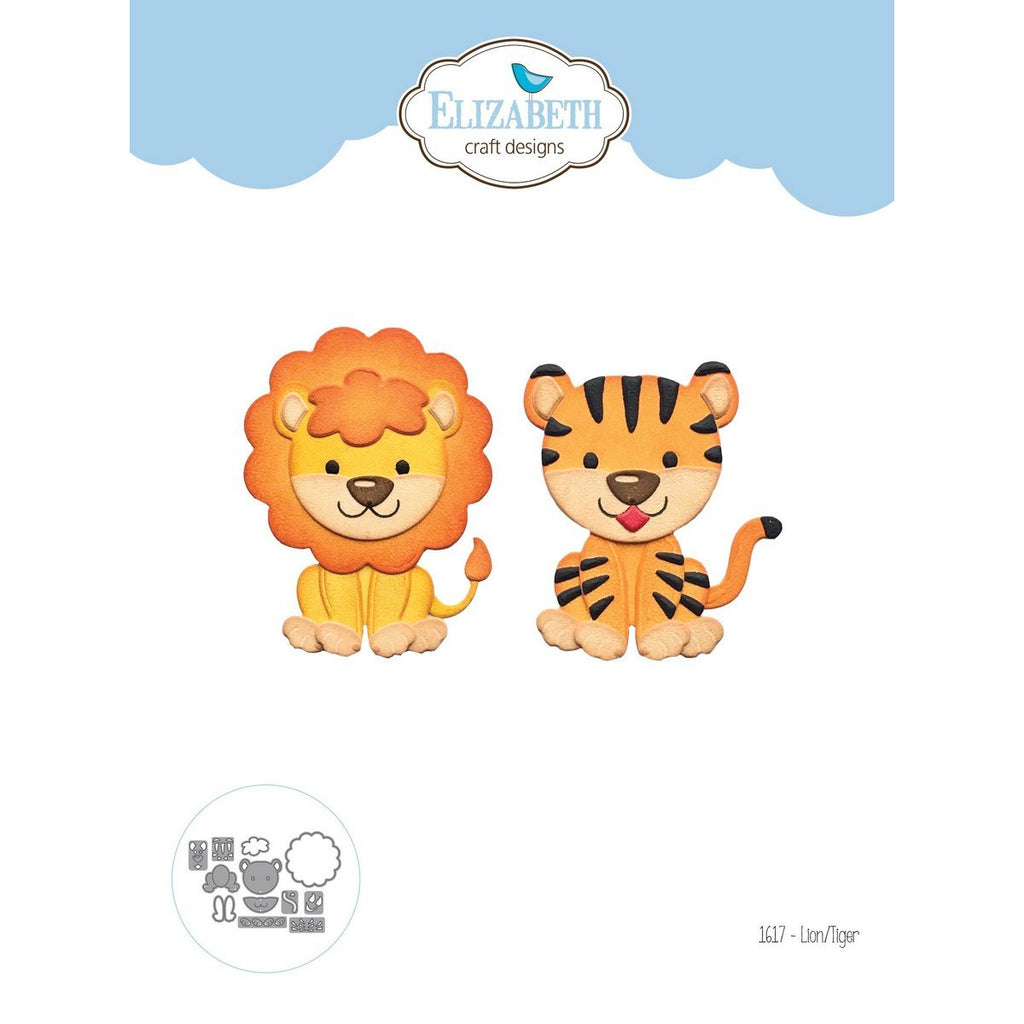 Elizabeth Craft Design - Dies - Lion/Tiger