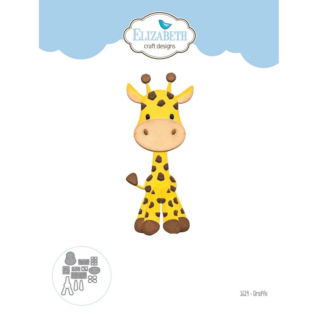 Elizabeth Craft Design - Dies - Giraffe