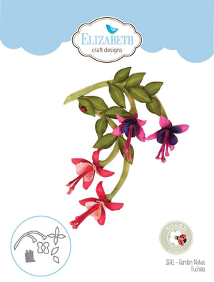 Elizabeth Craft Designs - Dies - Fuchsia